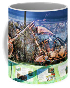 Display Lady Liberty Copper Bike Ny Coffee Mug