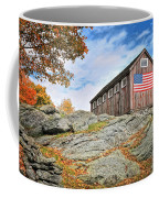 Display Of Colors - Roxbury Barn  Coffee Mug by Thomas Schoeller