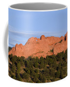 Distant Camels In The Garden Of The Gods Coffee Mug