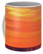 Distant Cell Towers At Sunrise Two Coffee Mug