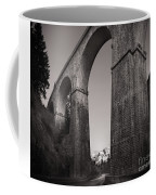Distant Mountain And Long Bridge Coffee Mug