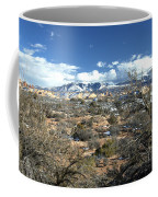 Distant Mountain Range Coffee Mug