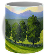Distant Mountains Coffee Mug