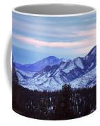 The Distant Peaks Of Pikes Coffee Mug