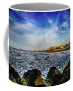 Distant Pier Coffee Mug