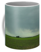 Distant Rain Driving Down I 57 Coffee Mug