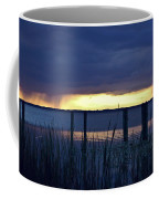 Distant Storms At Sunset Coffee Mug