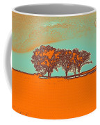 Distant Trees Under Milkyway Horizon By Adam Asar Coffee Mug
