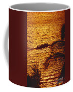 Distant View Of Outrigger Coffee Mug
