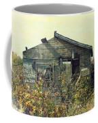 Distressed Honey House Door County Wisconsin Coffee Mug