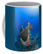 Divers Visit The Pelicano Shipwreck Coffee Mug