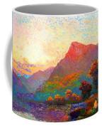 Buddha Meditation, Divine Light Coffee Mug