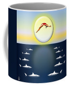 Diving Into Unknown Waters Coffee Mug