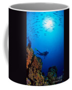 Diving Scene Coffee Mug