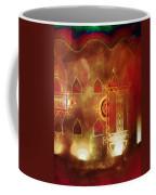 Diwali Card Lamps And Murals Blue City India Rajasthan 2h Coffee Mug