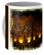 Diwali Lamps And Murals Blue City India Rajasthan 2b Coffee Mug