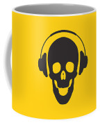 Dj Skeleton Coffee Mug