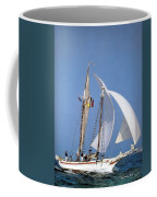 dk tall ships fiddlers green gaff schooner lyr 1973 D K Spinaker Coffee Mug