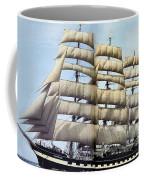 dk tall ships kruzenshtern barque lyr 1926 full D K Spinaker Coffee Mug