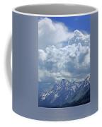 Dm9233 Clouds Over Mt. Moran V Coffee Mug
