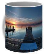 Dnr West Boat Launch Sunrise Coffee Mug