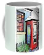 Do-00091 Telephone Booth In Morpeth Coffee Mug