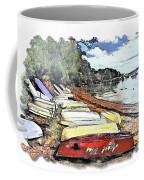 Do-00124 Tender Boats Coffee Mug