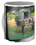 Do-00128 Boatshed At Brisbane Water Coffee Mug
