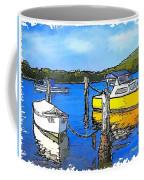 Do-00147 Resting Boats Coffee Mug