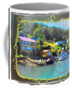 Do-00243 Houses On Brisbane Water Coffee Mug