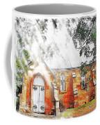 Do-00264 Ghostly Look Of St John Church Coffee Mug