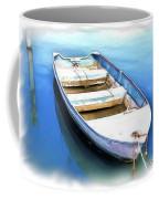 Do-00269 Boat In Killcare Coffee Mug