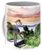 Do-00272 Look Out From Sarah Island Coffee Mug