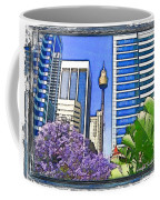 Do-00285 Sydney Centre Tower In Spring Coffee Mug
