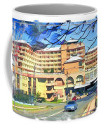 Do-00288 Crowne Plazza From A Hill Coffee Mug