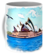 Do-00293 Sydney Opera House Coffee Mug