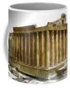 Do-00311 The Temple Of Bacchus Baalbeck Coffee Mug
