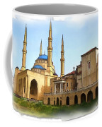 Do-00362al Amin Mosque And St George Maronite Cathedral Coffee Mug