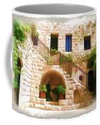 Do-00374 Old Building In Deir El-kamar Coffee Mug