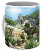 Do-00402 Mussaylaha Fort At Nahr El-jawz Coffee Mug