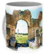 Do-00409 View On Arena In Tyr Coffee Mug
