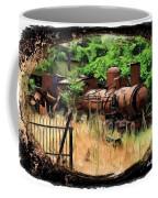 Do-00411 Old Train In Ryak Coffee Mug