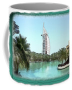 Do-00464 View Of Burj Al-arab Coffee Mug