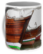 Do-00476 Abra Dhow Boats Coffee Mug
