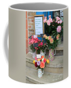 Do Not Touch The Floral Display Coffee Mug