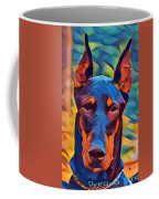 Doberman I C Coffee Mug