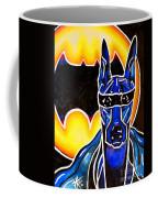 Dog Superhero Bat Coffee Mug