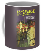 Doc Savage Dust Of Death Coffee Mug