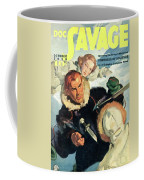 Doc Savage Fortress Of Solitude Coffee Mug