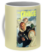 Doc Savage Fortress Of Solitude Coffee Mug